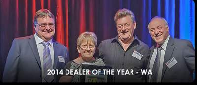 Dealer of the Year 2014 WA