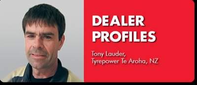 DEALER PROFILE: Tony Lauder, Tyrepower Te Aroha, NZ
