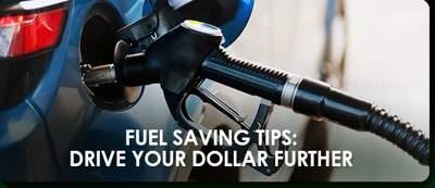 Fuel Saving Tips - May 2017