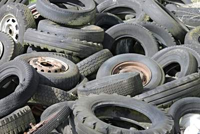 Recycle and Reuse Your Old Tyres