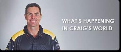 What's happening in Craig's world - April 2016