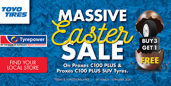 Massive Easter Sale Tyrepower April Tile