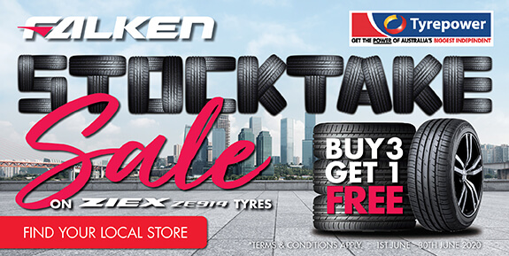 Stocktake Sale - Buy 3 Get 1 Free on Ziex ZE914 Tyres
